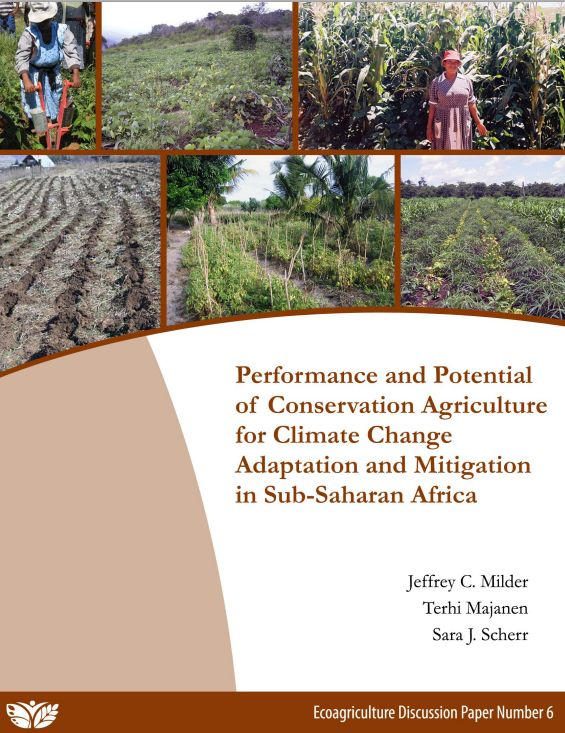a study of ecoagriculture Solutions for sustainable agriculture and  prepared by the thematic group on sustainable agriculture and food systems  croplifeecoagricultureparters.
